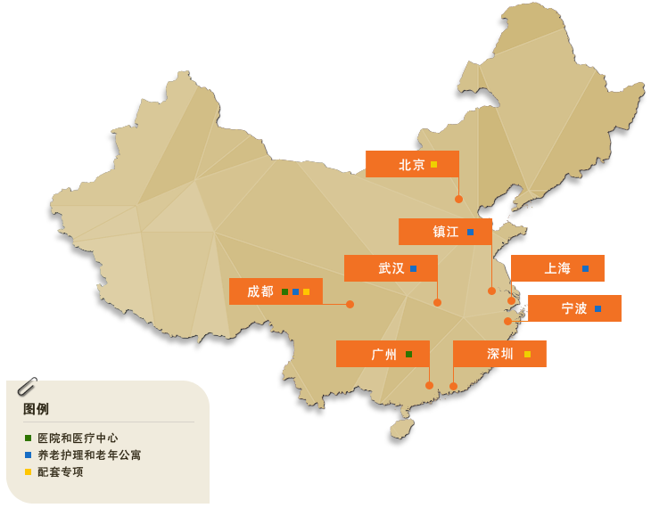 Healthcare China Map